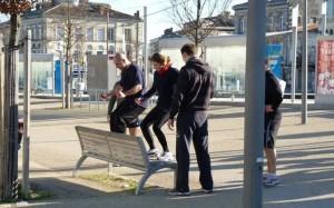Un espace urbain : 10 sports différents