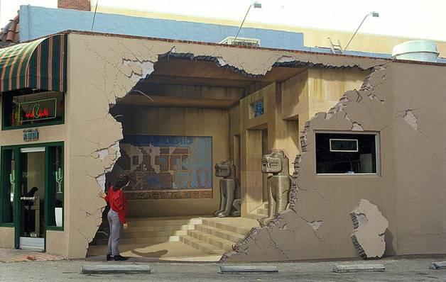 Peinture Murale Trompe L Oeil portfolio] les plus incroyables trompe-l'oeil urbains !