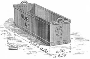 La poubelle : histoire d'un mobilier urbain essentiel