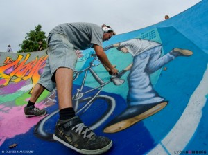 Art urbain : tour de France de graffiti