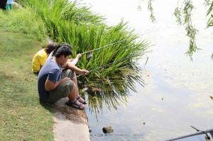 Urban fishing : la pêche comme loisir urbain
