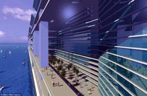 Freedom ship : une ville flottante sur les océans du monde