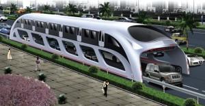 Straddling bus : un métro aérien pour désengorger les centres-ville