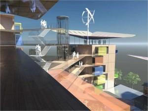 Développement durable : des immeubles autonomes en eau et énergie à Grenoble