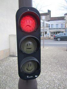 Moins de feux rouges : moins d'embouteillages !