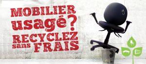 Recycler votre mobilier d'entreprise grâce à Valdelia