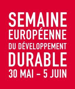 Semaine européenne du développement durable2015: appel à projets