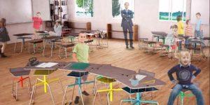 Mobilier scolaire: les étudiants lauréats du Prix Jean Prouvé