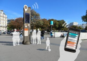 Mobilier urbain : des bornes wi-fi pour des infos géolocalisées
