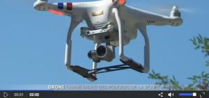 Des drones au service de la sécurité routière